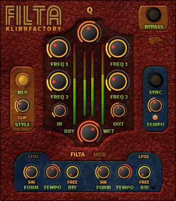 KlirrFactory FILTA – Free VST2/VST3 Plugin – KlirrFactory